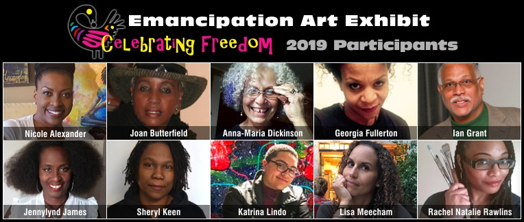 Emancipation Art Exhibit - Celebrating Freedom